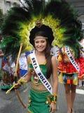 Mlle Teen Bolivie photo stock