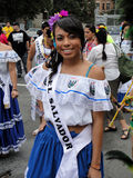 Mlle Teen Salvador photos libres de droits