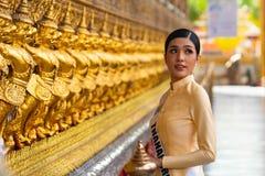 Mlle Universe Thailand 2019, camping de visite de visite photo libre de droits