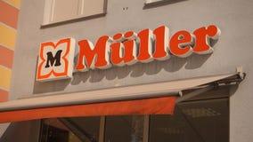 Müller stock video