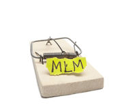 MLM Gefahrkonzept Lizenzfreies Stockfoto