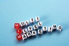 Mlm-Würfel Stockfotos