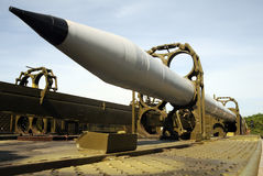 MLRS rakiety Obraz Stock