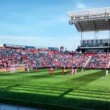 MLS-Voetbalspel stock afbeelding