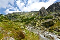 Mlynicka dolina, Vysoke Tatry (Mlinicka valley, High Tatras) - Slovakia Royalty Free Stock Image