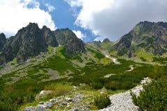 Mlynicka dolina, Vysoke Tatry - Sistani (Mlinicka dolina, Wysoki Tatras) Zdjęcie Royalty Free