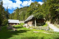 Mlyny-Oblazy одно из самых привлекательных туристских назначений в Liptov стоковое фото