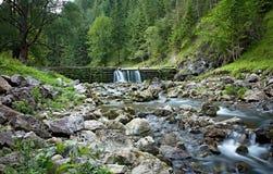 Mlyny - Oblazy, долина Kvacany - Словакия Стоковое Фото
