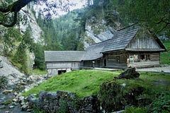 Mlyny - Oblazy Kvacianska valley in Slovakia. Stock Images