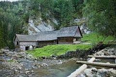 Mlyny - Oblazy Kvacianska valley in Slovakia. Stock Photos