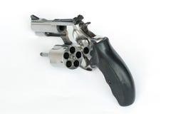 .38 mm。在白色背景的枪孤立 免版税图库摄影