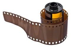 35mm底片卷 图库摄影