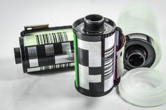 35 mm底片-照相机影片卷  免版税库存照片