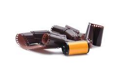 35 mm影片弹药筒 图库摄影