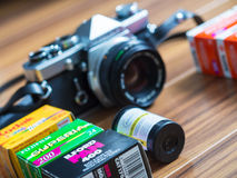 35mm影片摄影 免版税图库摄影