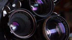 35mm影片葡萄酒照相机 影视素材