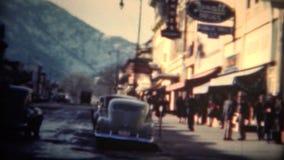 (8mm影片)巨石城科罗拉多街市1949年 股票视频