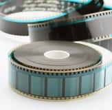 35mm影片轴 库存照片