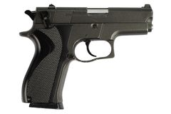 9mm手枪 免版税库存照片
