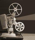 8mm放映机短管轴 免版税图库摄影