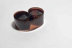 35mm消极摄影被暴露的影片 库存图片
