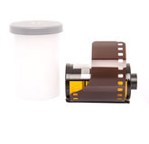 35mm照相机影片VI 库存图片