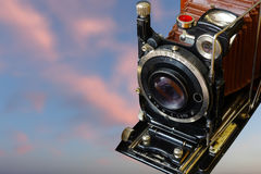 35mm照相机slr葡萄酒 老照片 免版税库存图片