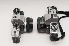 35mm照相机slr葡萄酒 库存照片