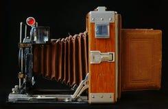 35mm照相机slr葡萄酒 库存图片