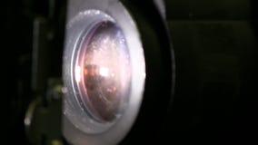 35mm电影放映机 股票视频