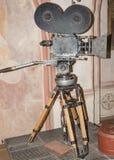 35 mm电影照相机上个世纪 免版税图库摄影