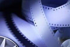 35mm电影胶卷 库存照片