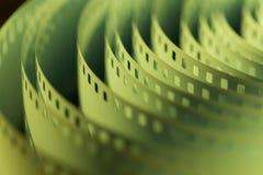 35mm电影胶卷 免版税库存照片