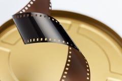 35 mm电影胶卷 库存照片