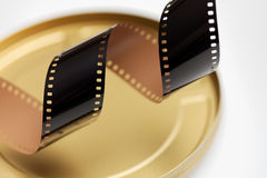 35 mm电影胶卷 免版税图库摄影