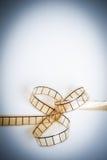 35mm电影filmstrip,影片弓, copyspace葡萄酒颜色神色, ve 库存图片