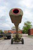 152 mm短程高射炮2A65 MSTA-B 免版税库存图片