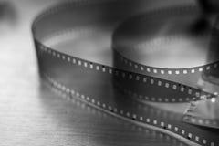 35mm空白影片 库存照片