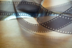 35mm空白影片 免版税库存图片