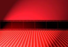 35mm葡萄酒传染媒介消极抽象减速火箭的影片背景 免版税库存图片