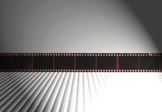 35mm葡萄酒消极抽象减速火箭的影片背景 免版税库存照片