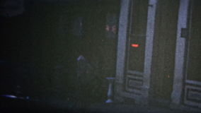 (8mm葡萄酒) 1949个中心城市,科罗拉多美国 股票录像