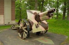 155mm谢德短程高射炮 免版税库存图片