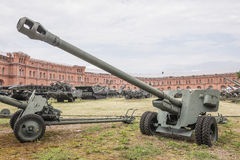 100 mm野战炮BS-3, mod 1944年 免版税库存图片