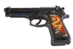 9 mm枪 库存照片