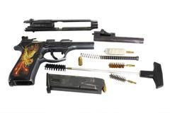 9 mm枪 图库摄影