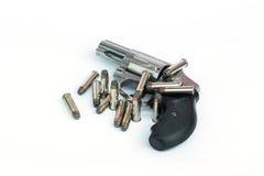 .357 mm枪 免版税图库摄影