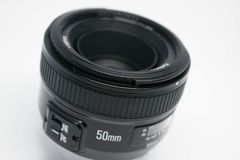 50 mm lens Royalty Free Stock Image