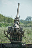 90 mm air defence cannon stock photography