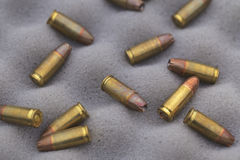 9 mm ammunition Stock Photos